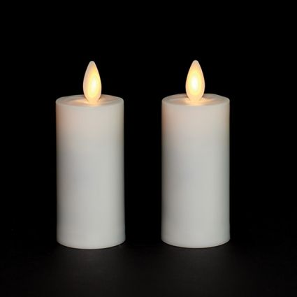 battery operated candles with timer at costco
